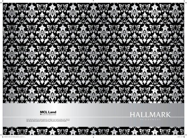 Hallmark Residences Brochure and Floorplans 6100 9300