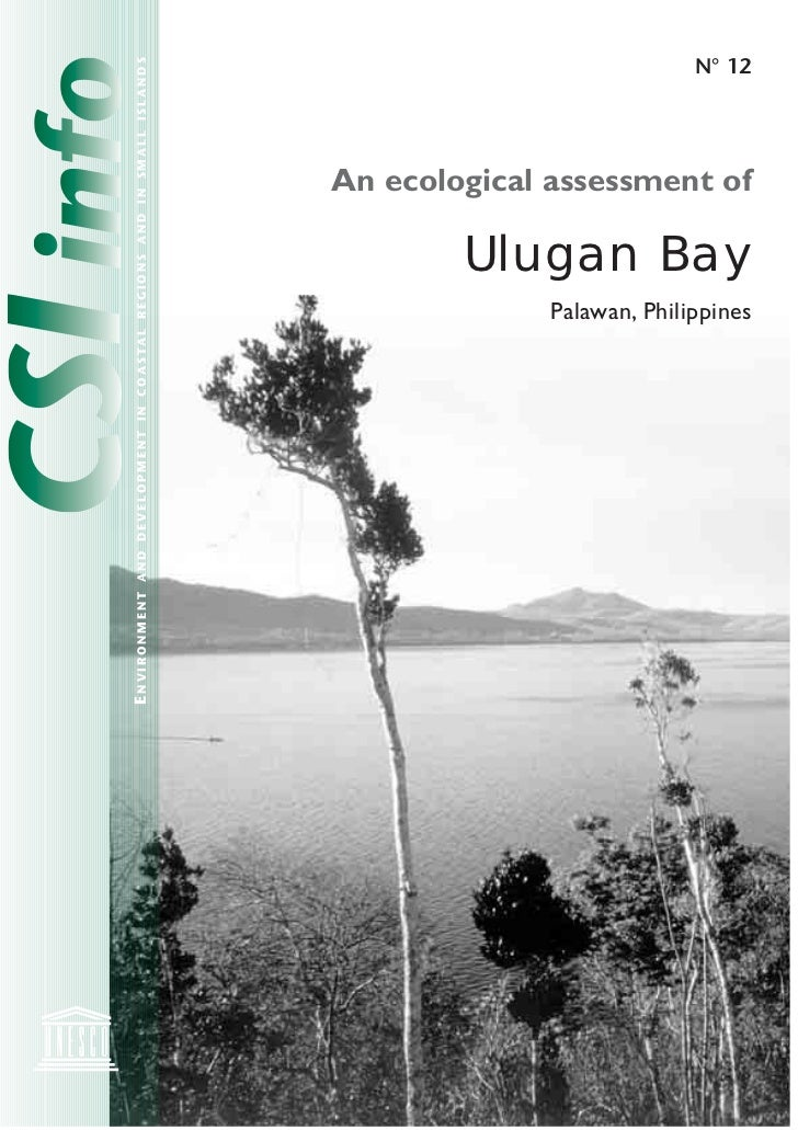 An Ecological Assessment of Ulugan Bay, Palawan