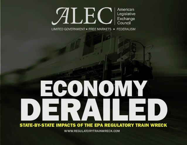 Economy Derailed: State-by-State Impacts of the EPA Regulatory Train Wreck