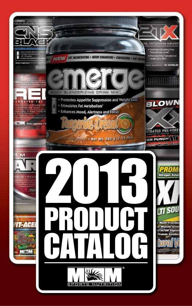 Max Muscle Sports Nutrition Supplement Guide for 2013