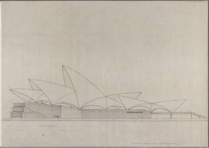 Sydney Opera House, drawings