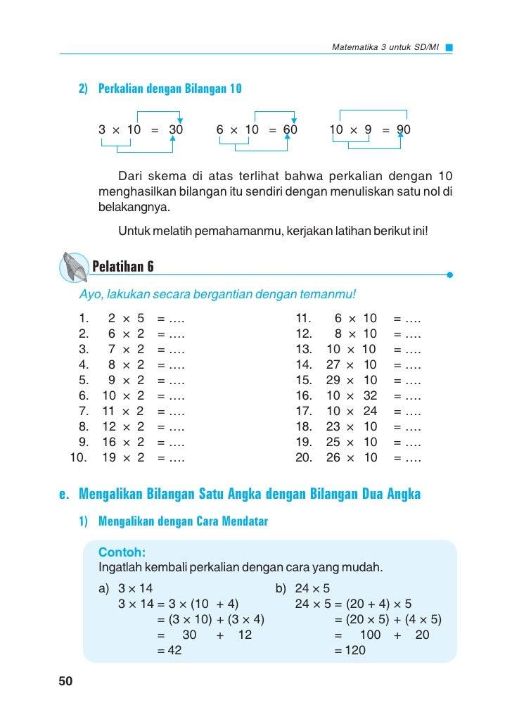 Sd Mi Kelas03 Cerdas Berhitung Matematika Nur Defi