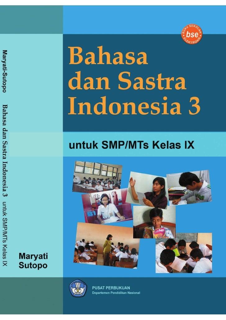 SMP-MTs Kelas09 bahasa dan sastra indonesia 3 maryati sutopo