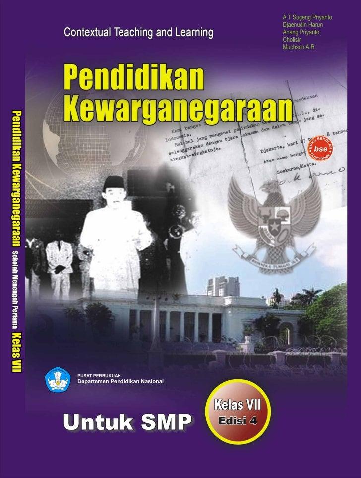 Hak Cipta pada Departemen Pendidikan Nasional Dilindungi Undang-undang     Penulis                 : A.T Sugeng Priyanto  ...