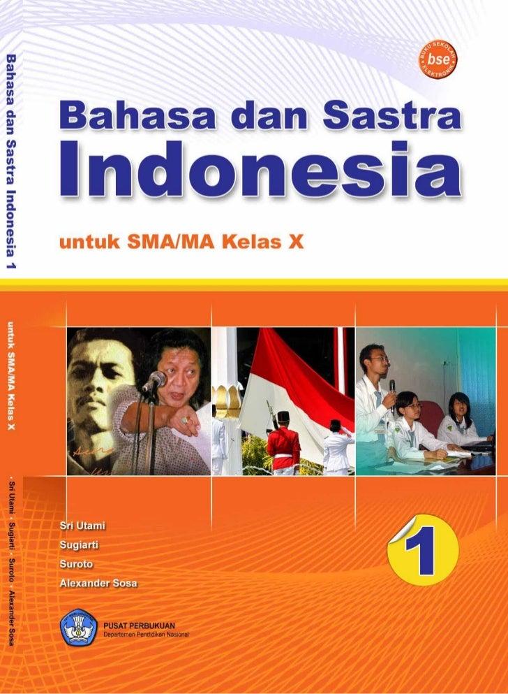 Hak Cipta pada Departemen Pendidikan Nasional Dilindungi Undang-undang     Bahasa dan Sastra  Indonesia Untuk SMA/MA Kelas...