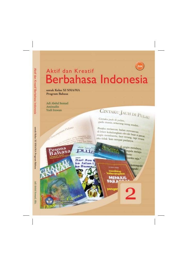 SMA-MA kelas11 program bahasa aktif dan kreatif berbahasa indonesia adi