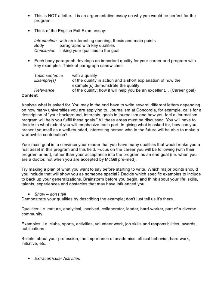 letter of intent university application sample