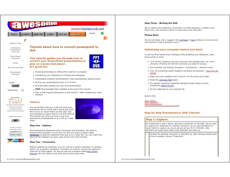 Extracting video clips from a DVD for use in PowerPoint (Mac)