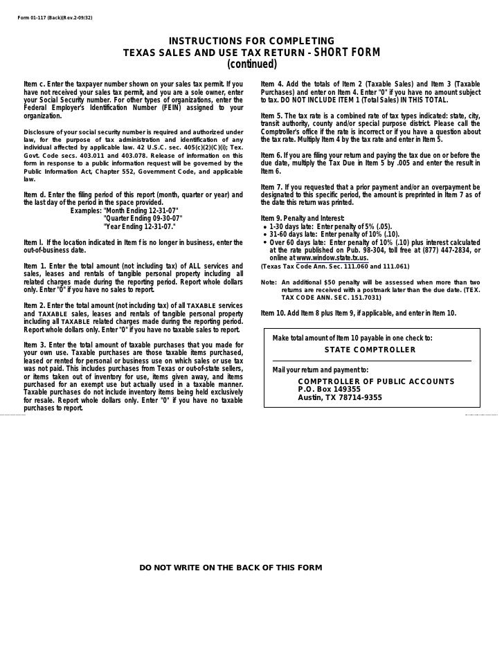 Give Her Credit - Sales Tax Return Form | Income Tax Return ...