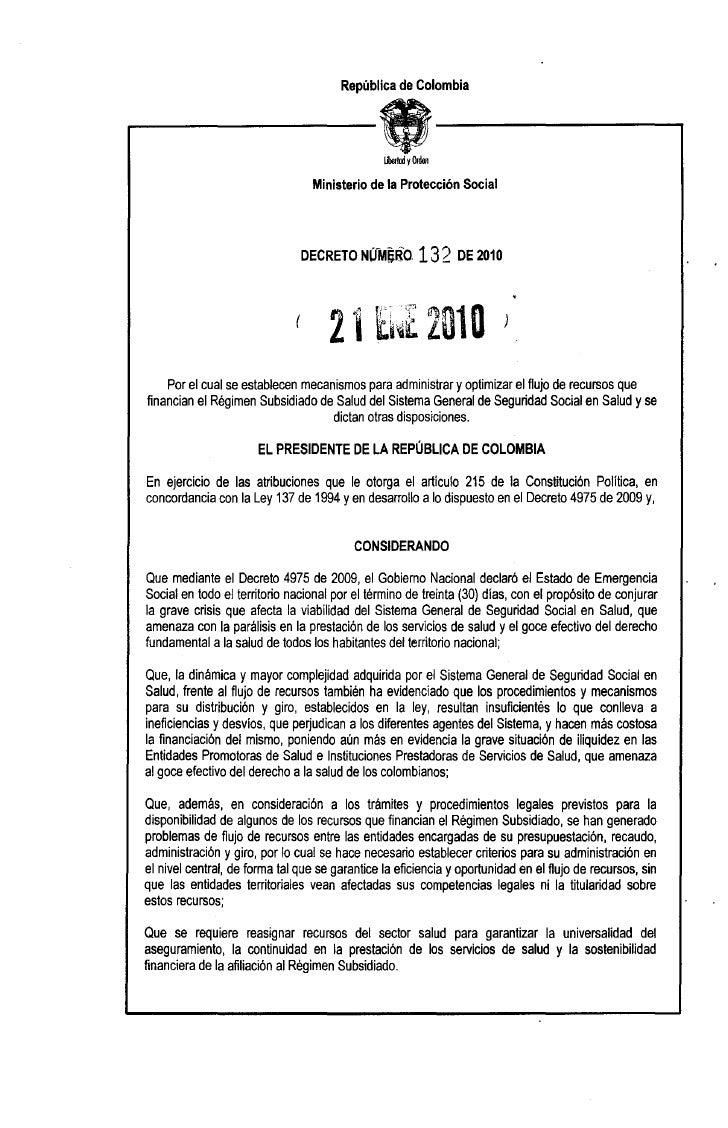 República de Colombia   r------tt------,                                IiJelrnd y Orden                                  ...