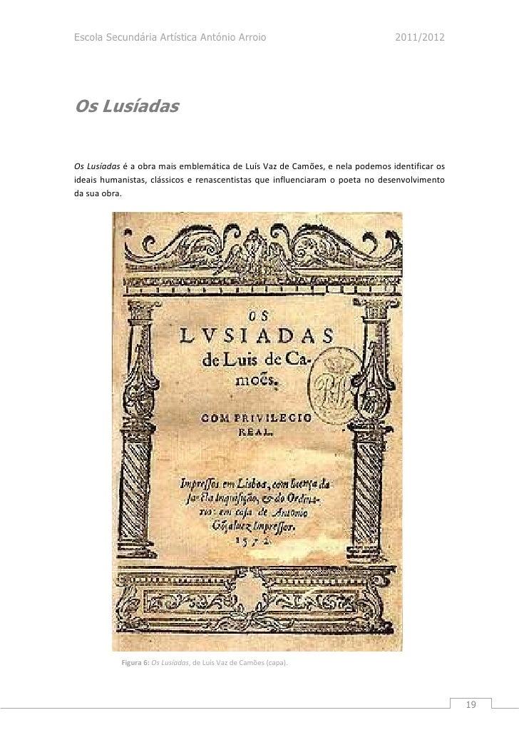Luis de Camoes renascimento