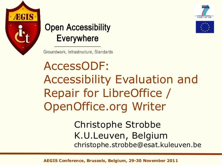 12 accessibility checkeropenoffice paper