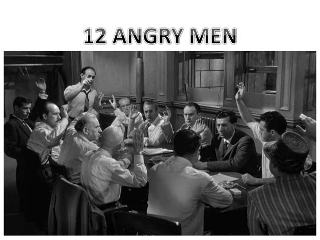 12 angry men research paper 12 angry men: a discourse on the persuasion of the minority student institution 12 angry men: a discourse on the persuasion of the minority the film 12 angry men (1957) is anchored to the group dynamics of the twelve men composing the jury.