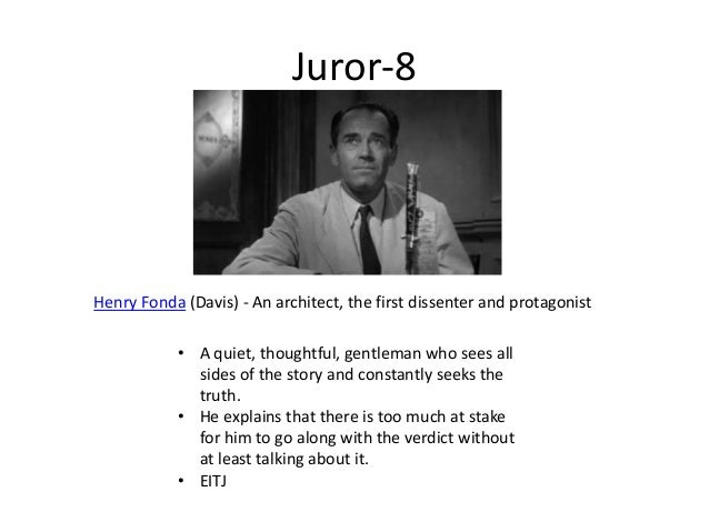 In Twelve Angry Men, how does the personality of Juror #6 affect his vote?
