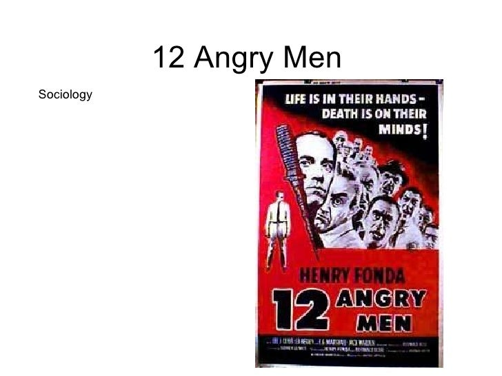 twelve angry men essay In the movie, 12 angry men, an 18 year old boy from a slum is charged with murder he is put on trial for being accused of stabbing his father in the chest with a knife.