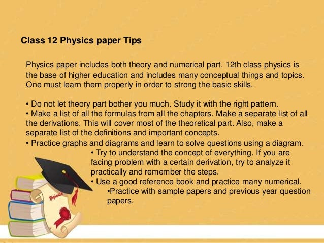 How do i prepare for a theory paper?