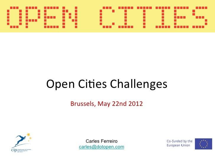 Open Cities Challenge Carles Ferreiro