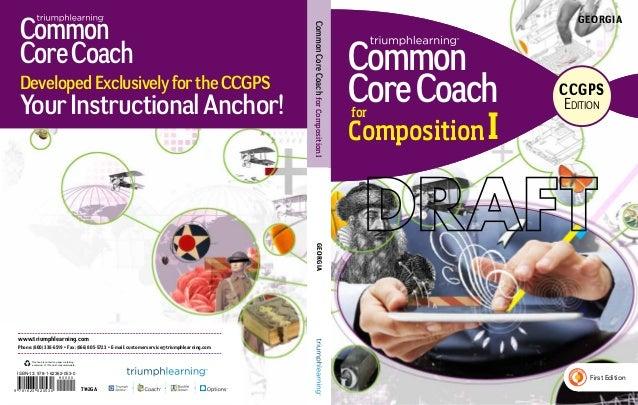 Georgia Common Core Coach, CCGPS Edition, Composition, Level I