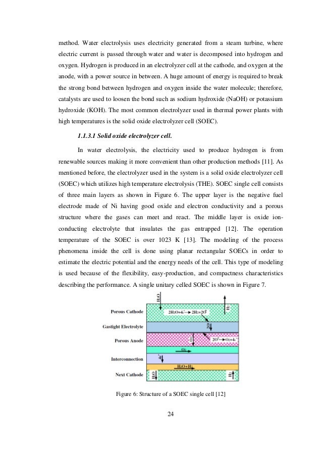 Masters thesis report