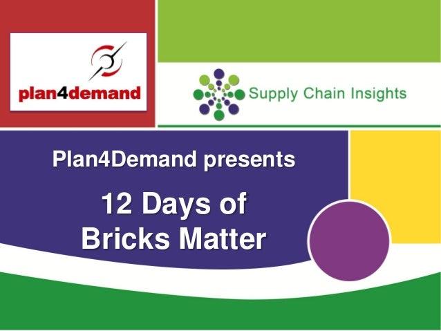 12 days of Bricks Matter