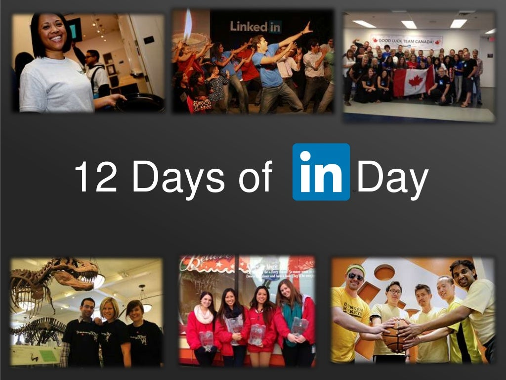 12 Days of InDay