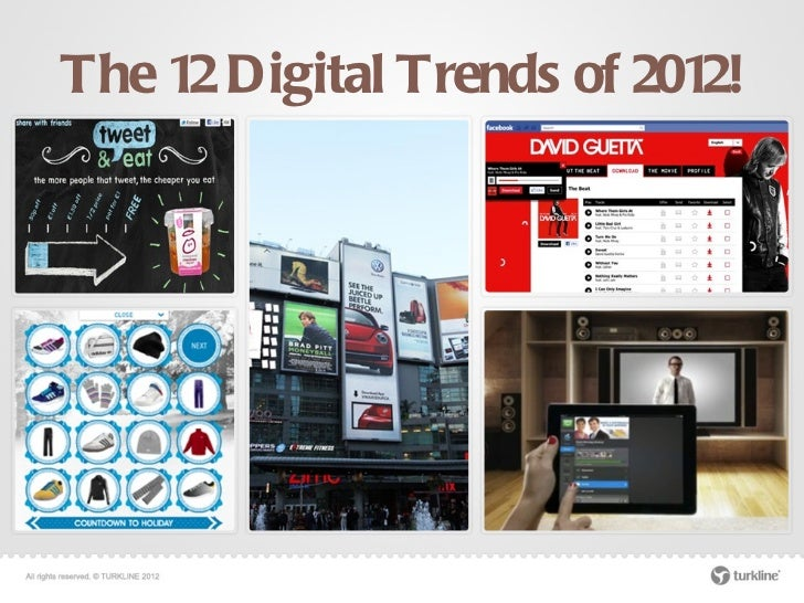 The 12 Digital Trends of 2012!
