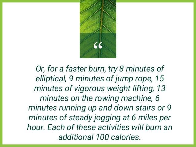 8 Easy Ways to Burn 100 Calories