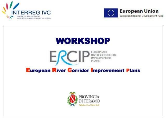 WORKSHOP European River Corridor Improvement Plans