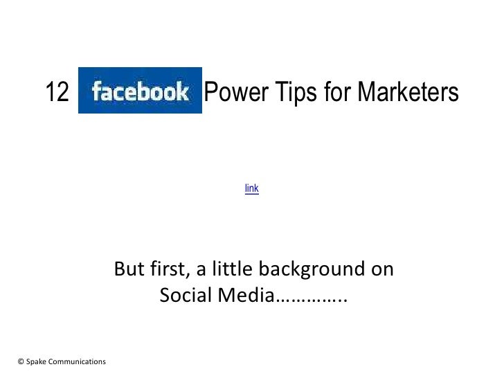 12                           Power Tips for Marketers                                           link                      ...