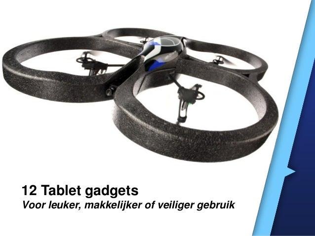 12 gadgets voor tablets