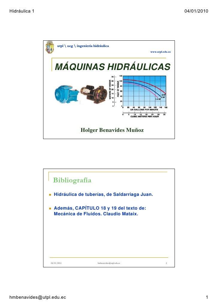12 Maquinas Hidraulicas