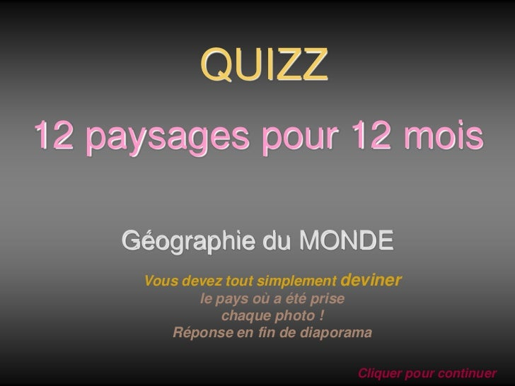 12mois 12paysages