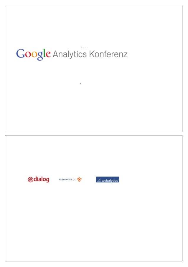 Google Analytics Konferenz 2013: Siegfried Stepke, e-dialog: 12 Monate Google Analytics im Schnelldurchlauf
