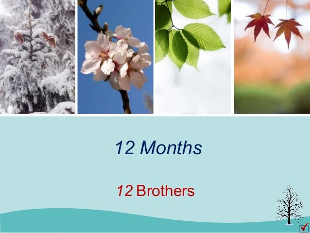 12 Months 12 Brothers