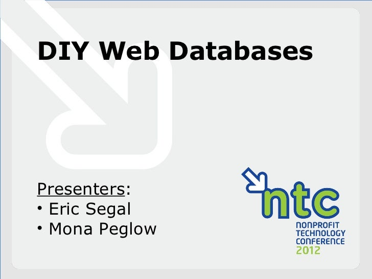 DIY Web Databases