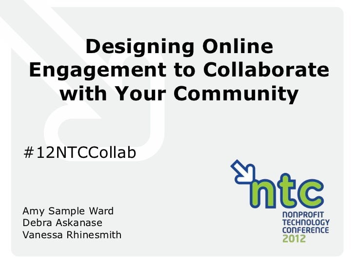 Designing Online Engagement to Collaborate with Your Community