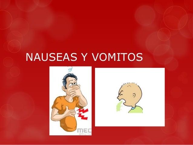 12 postoperatorio inmediato y nauseas y vomitos