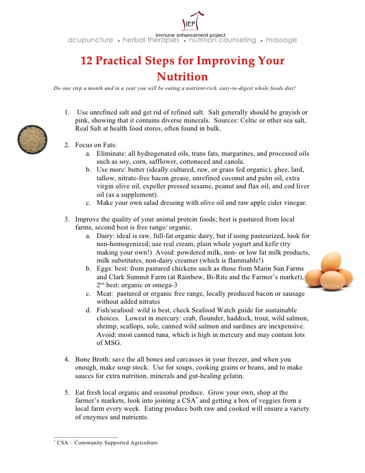 12 Practical Steps (IEP) (Additional PLUS Reading Materials)