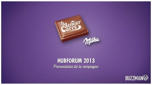 HUBFORUM 2013
