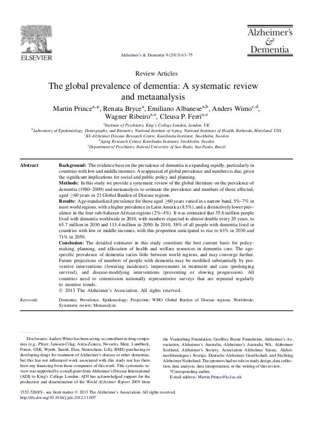 12 prince.wimo et al global prevalence of dem reviewpdf