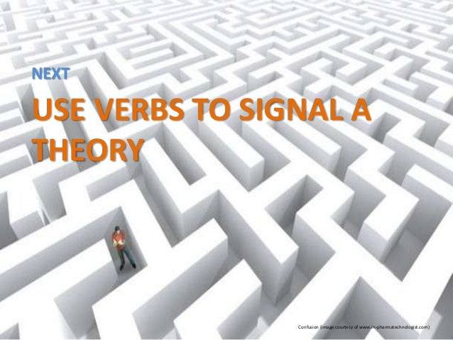 Verbs in signal phrases