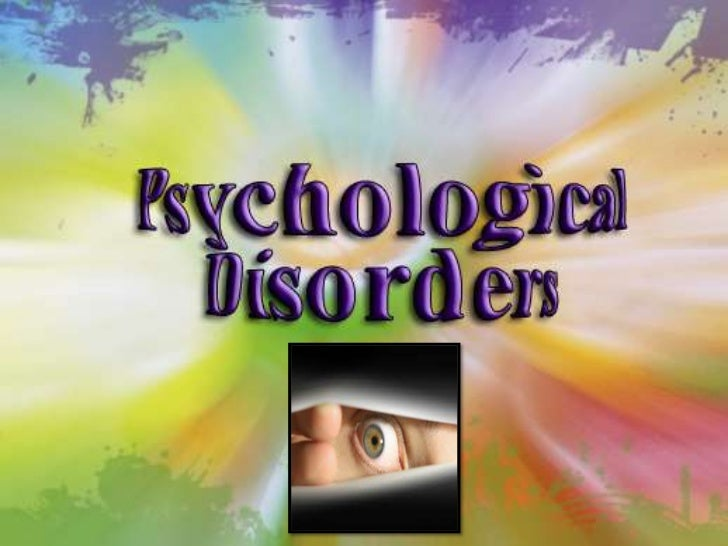 Psych 200   Psych Disorders