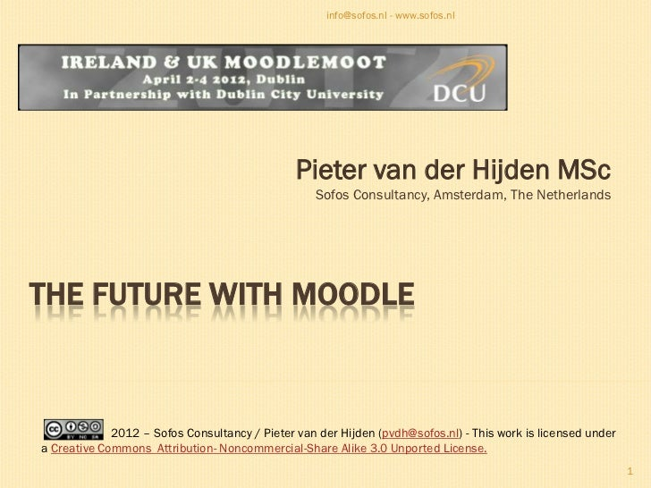 The future with Moodle