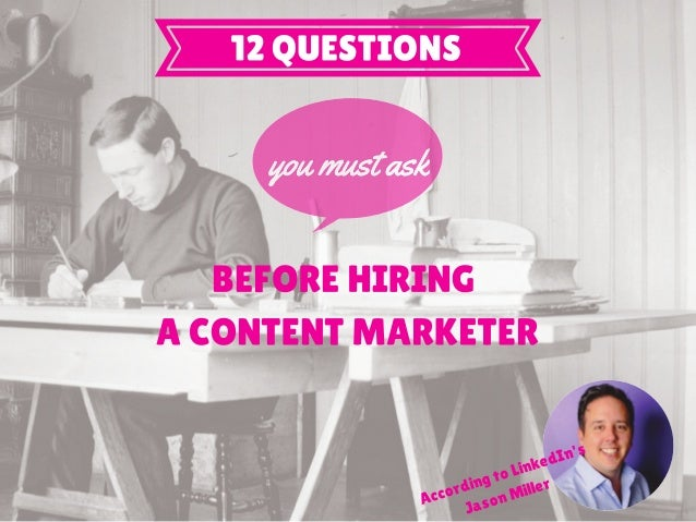 What do you think is the most important skill to become a successful content marketer? 1