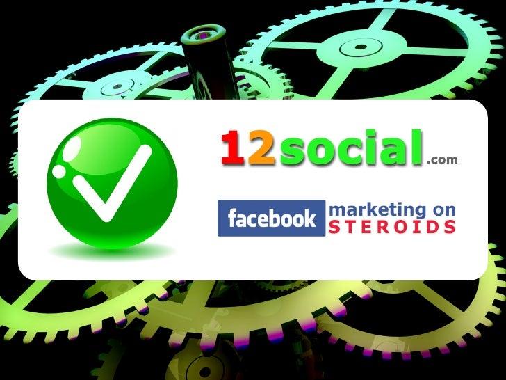 12social.com - Facebook Fan Service - Presentation