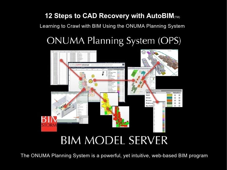 12 Steps To CAD Recovery With AutoBIM
