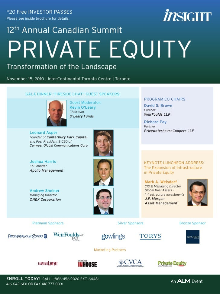 12th Annual Canadian Private Equity Summit