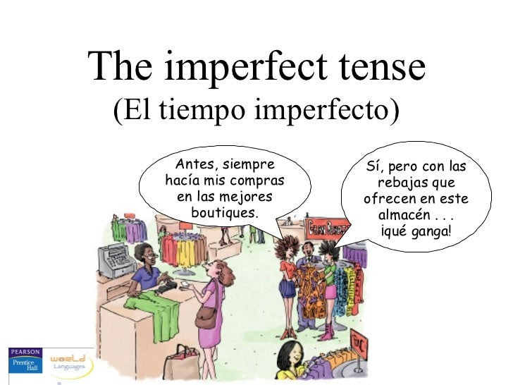 12 the imperfect tense of regular and irregular verbs