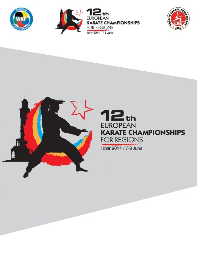 12th european karate championships for the regions in izmir