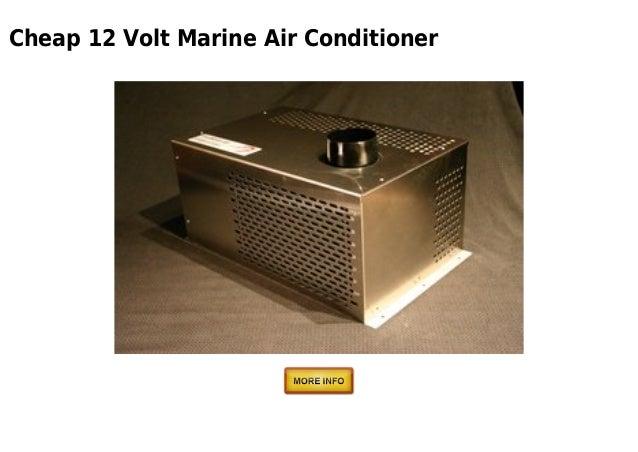 12 Volt Cooling Units : Volt marine air conditioner